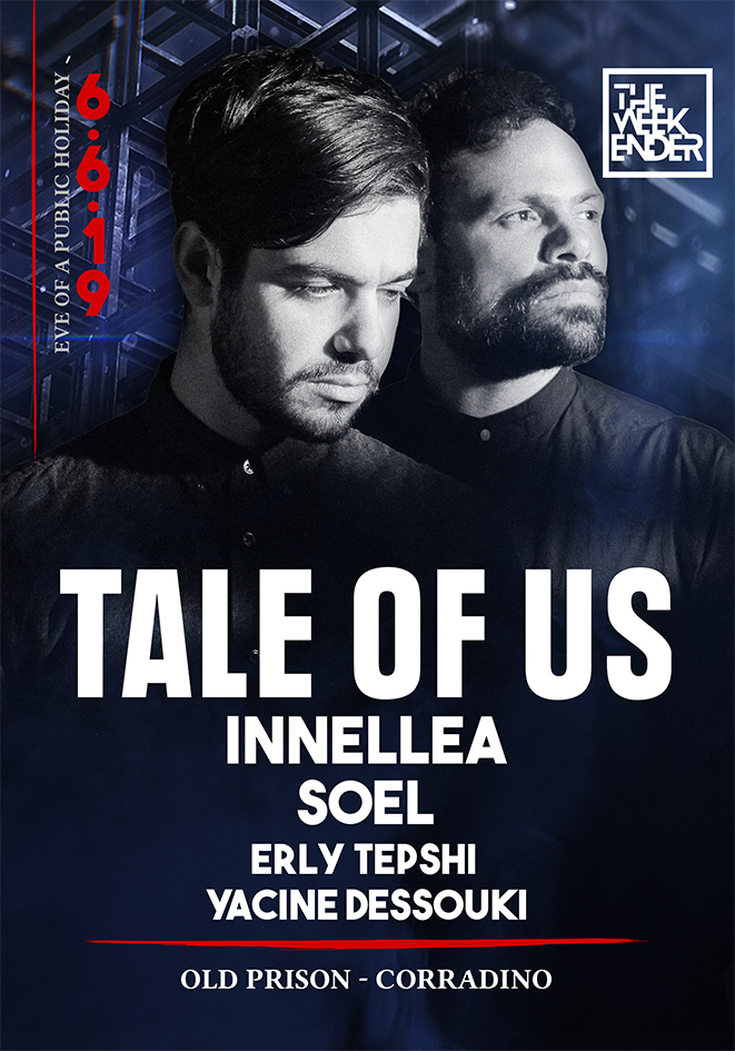 The  Weekender Presents TALE OF US flyer
