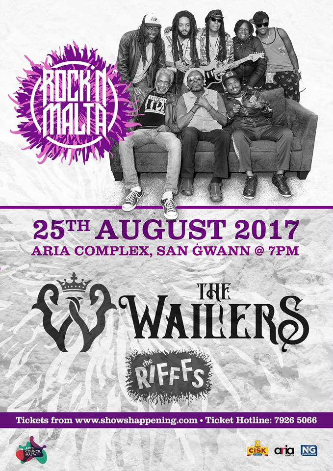 The Wailers flyer
