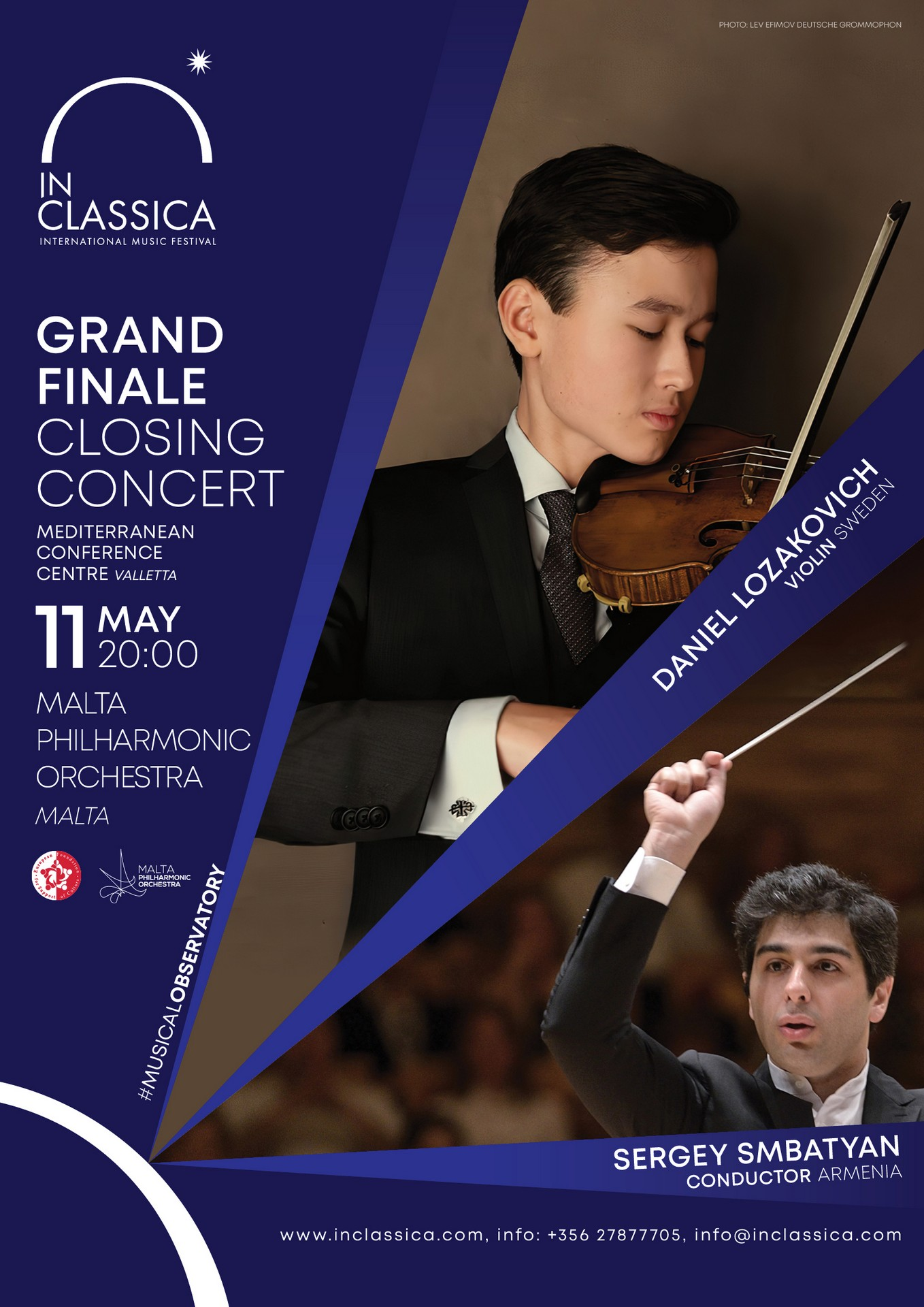InClassica: GRAND FINALE | CLOSING CONCERT flyer