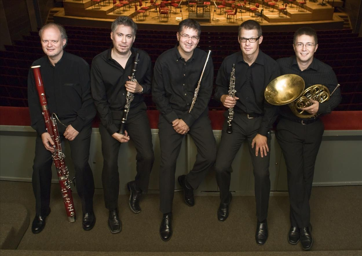 The Three Palaces Festival - Stockholm Philharmonic Wind Quintet flyer
