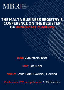 Conference on the Register of Beneficial Owners flyer