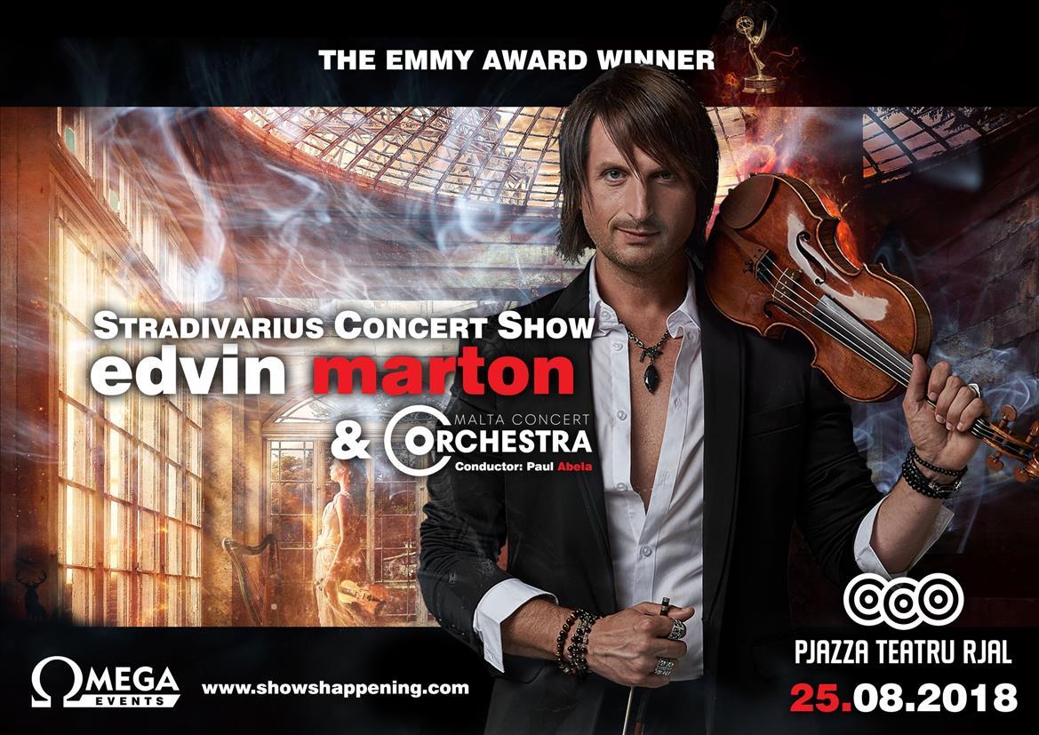 Edvin Marton: Stradivarius Concert Show flyer