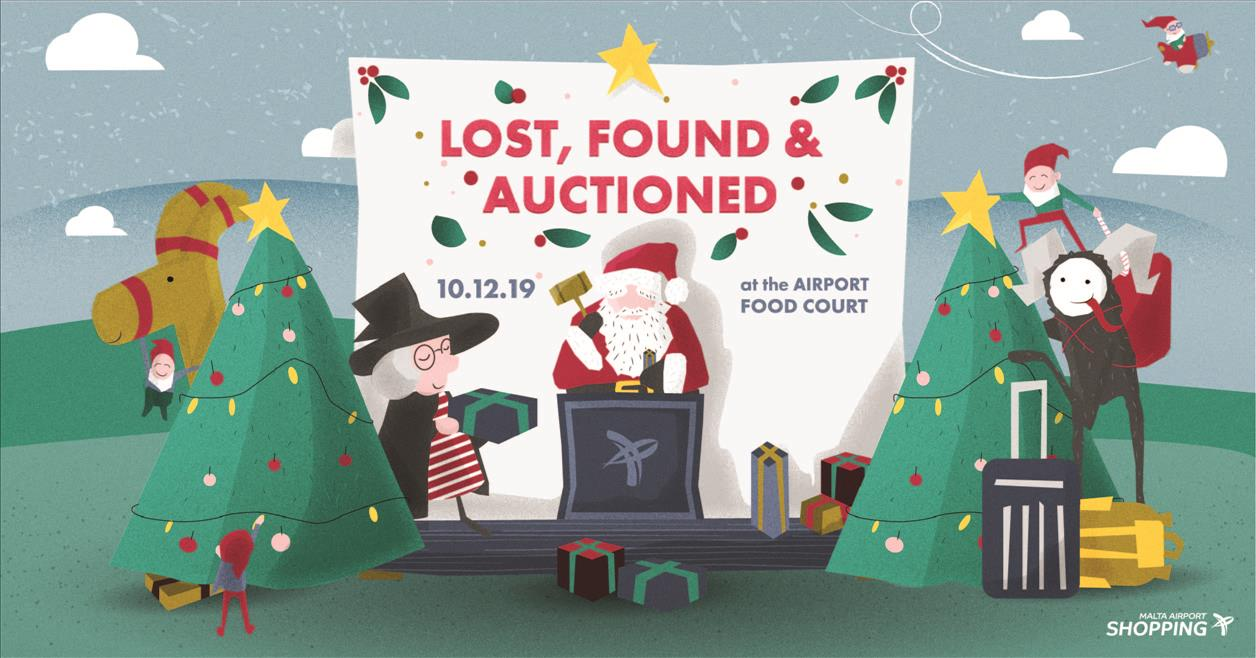 Lost, Found & Auctioned 2019 flyer