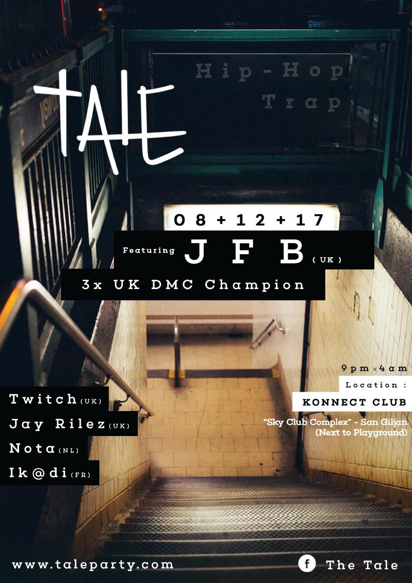 Tale Party: Hip-Hop X Trap: feat. JFB flyer