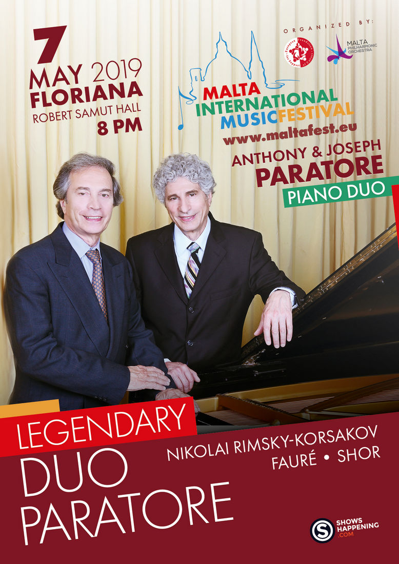 Legendary Duo Paratore flyer