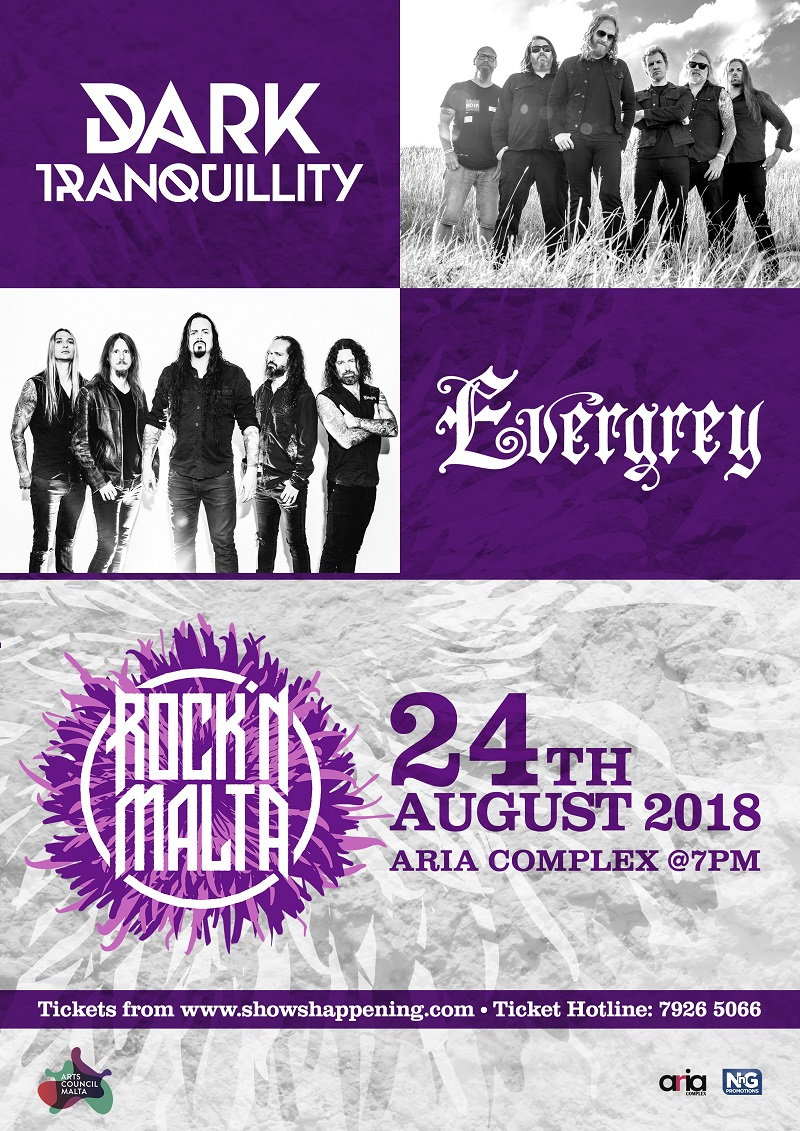 Dark Tranquility Evergrey flyer