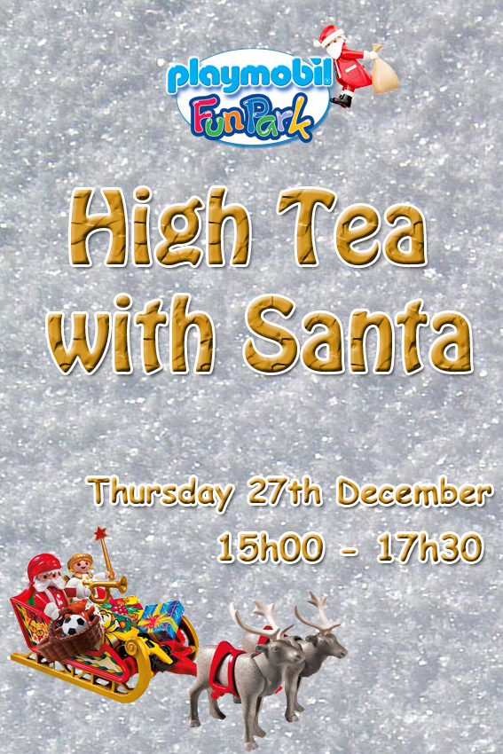 High Tea with Santa