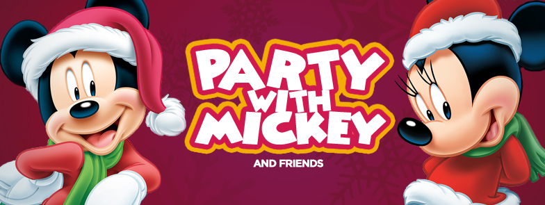 Party With Mickey & Friends flyer