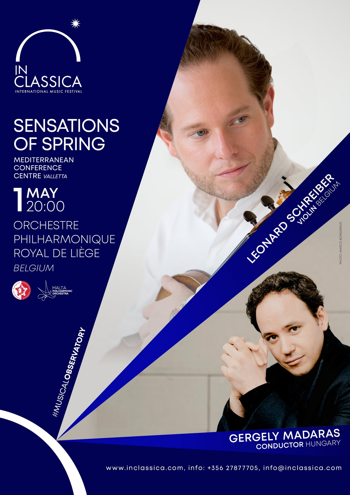 InClassica: SENSATIONS OF SPRING flyer
