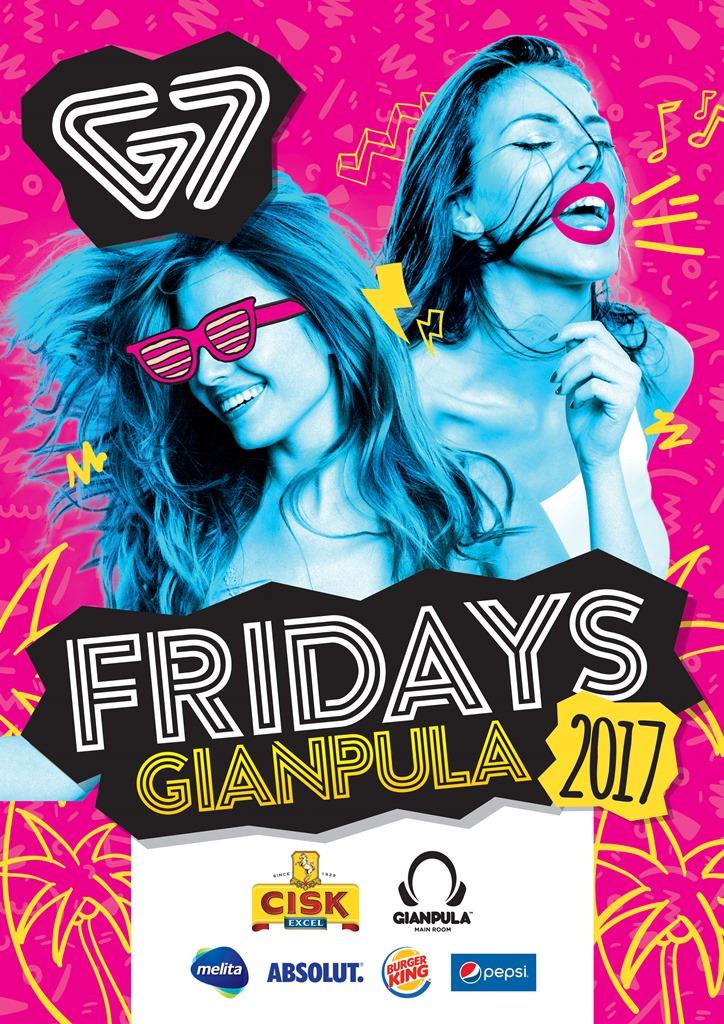 G7 Fridays - 2017 flyer