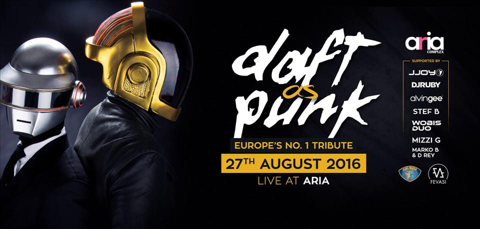 DAFT as PUNK | Europe's No.1 Tribute flyer
