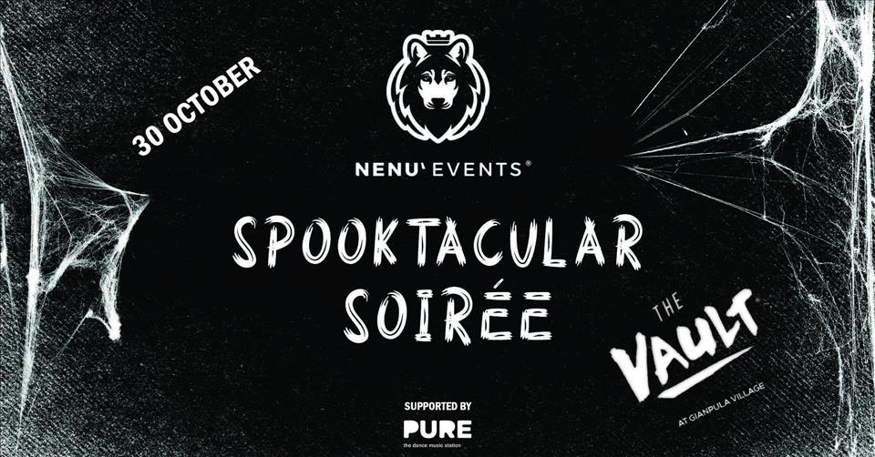 SPOOKTACULAR SOIREE poster