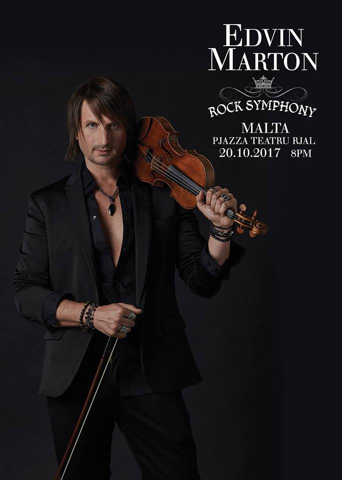 EDVIN MARTON: ROCK SYMPHONY - THE SUPERCONCERT flyer