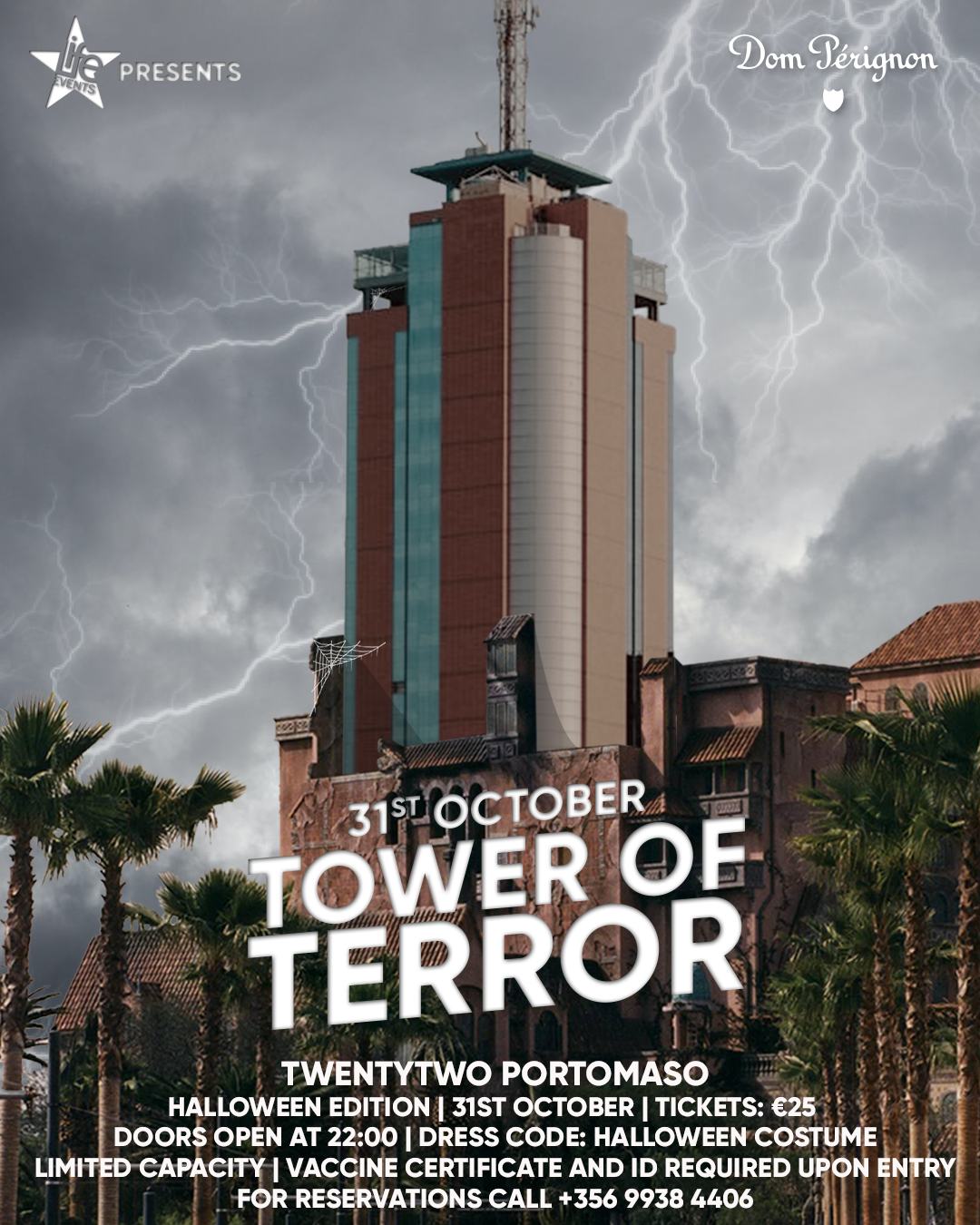 Tower of Terror by Life Events poster