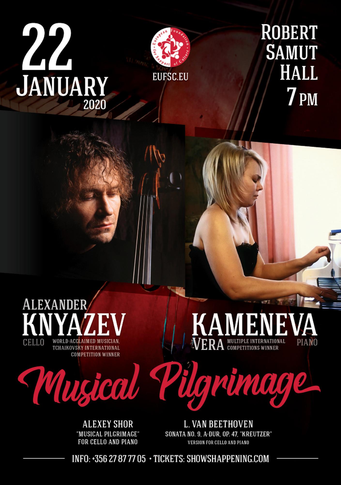 Musical Pilgrimage flyer