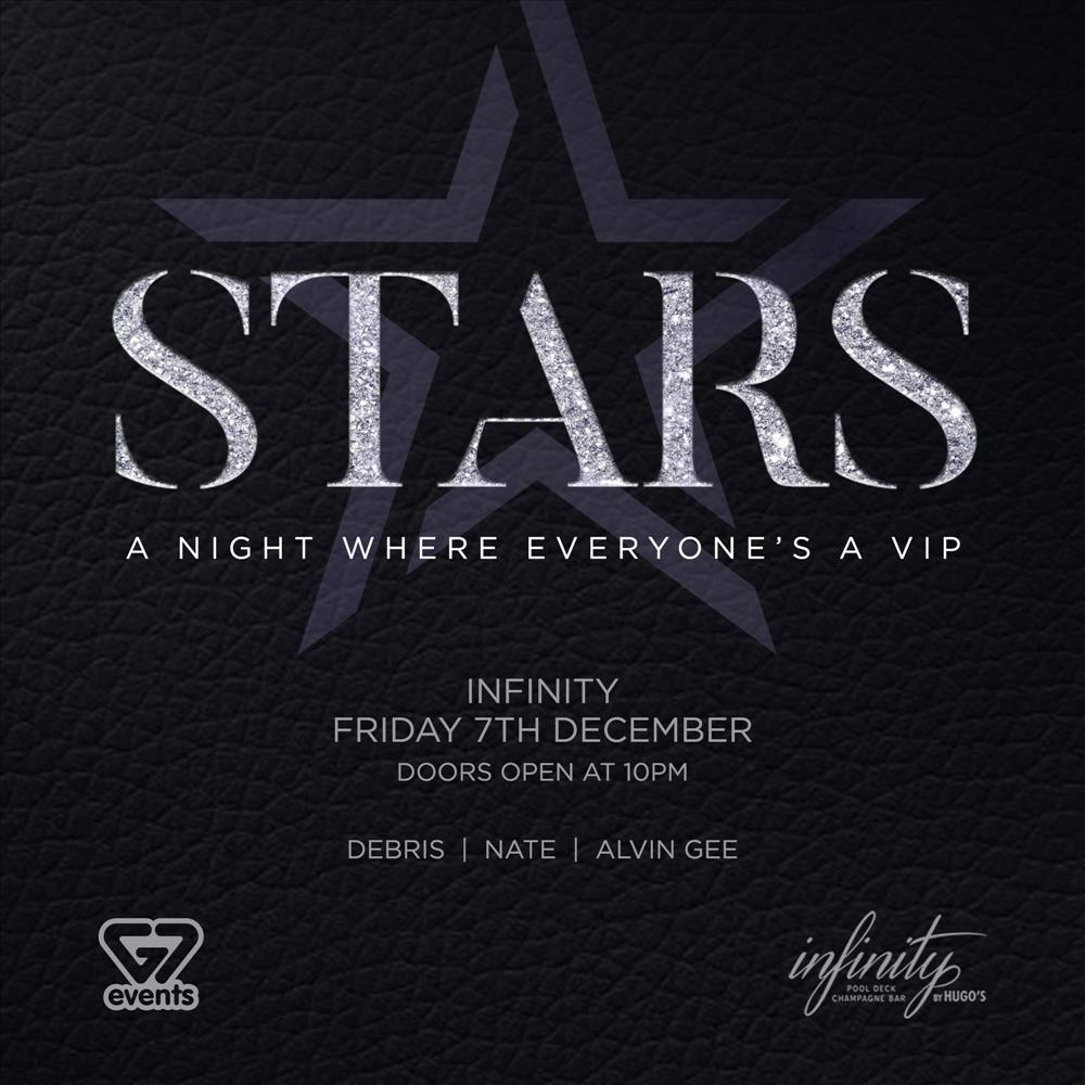 G7 STARS - A Night Where Everyone's A VIP flyer