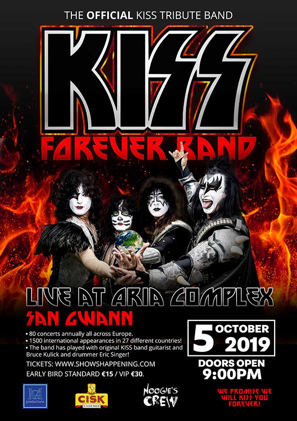 Kiss Forever flyer