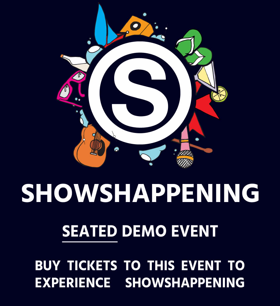 Seated Demo Event flyer