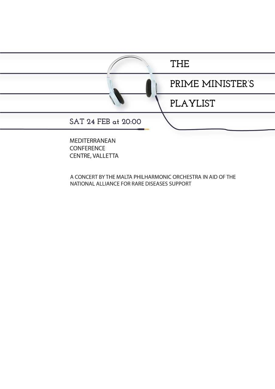 The Prime Minister's Playlist flyer