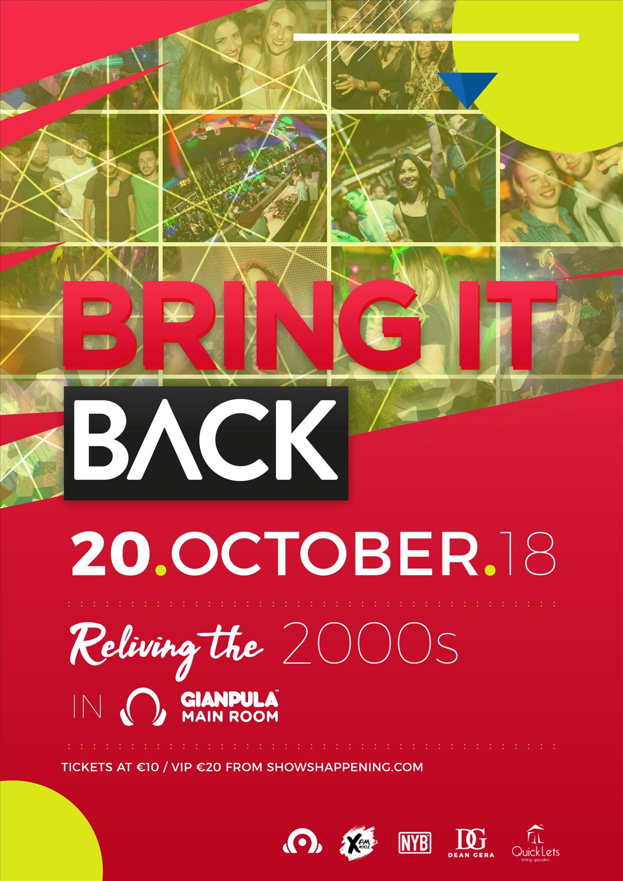 Bring It Back - Reliving The 2000s flyer