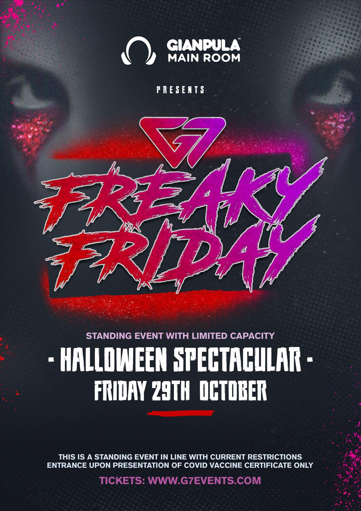 G7 Freaky Friday – Halloween Spectacular poster