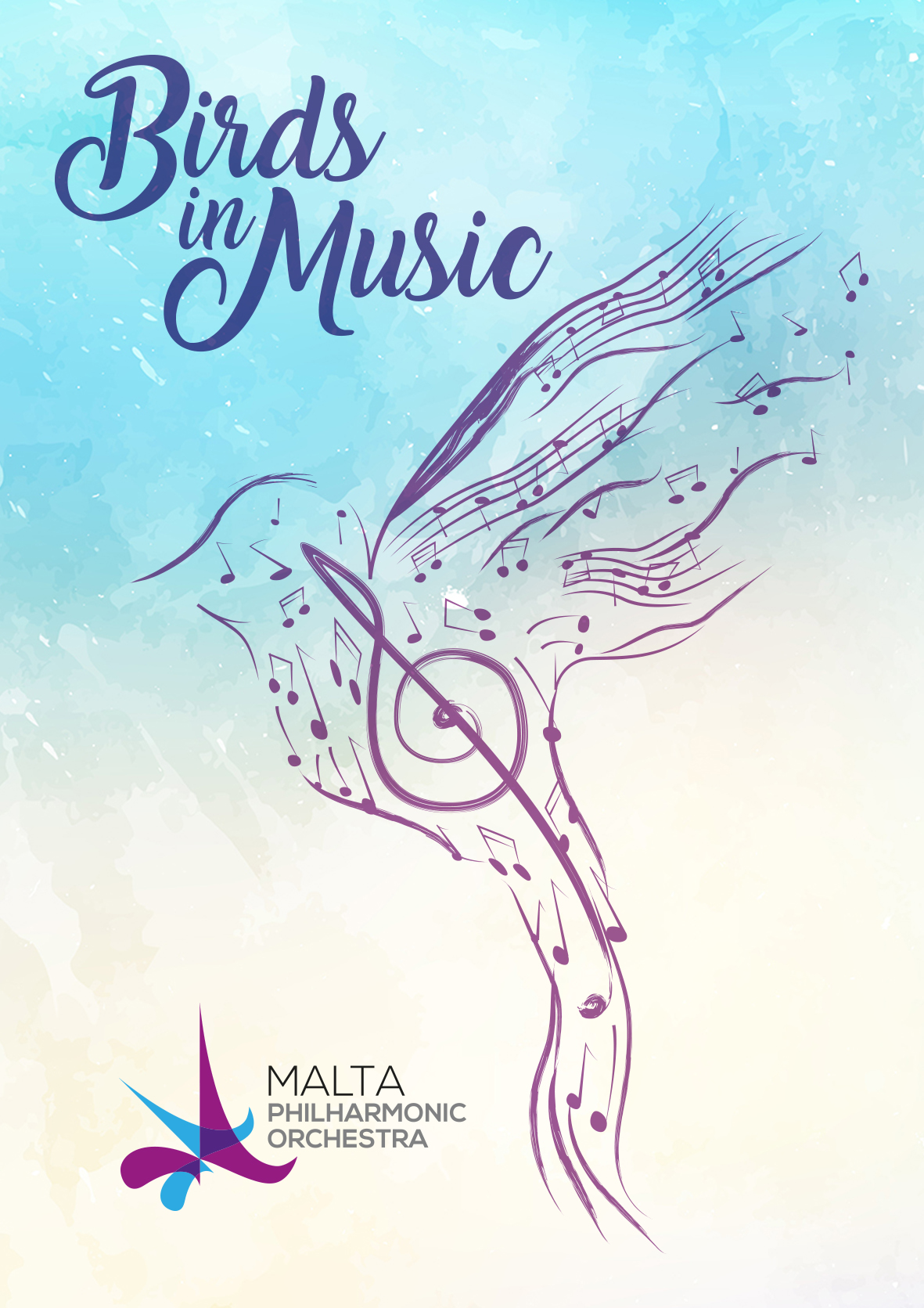 Birds in Music flyer