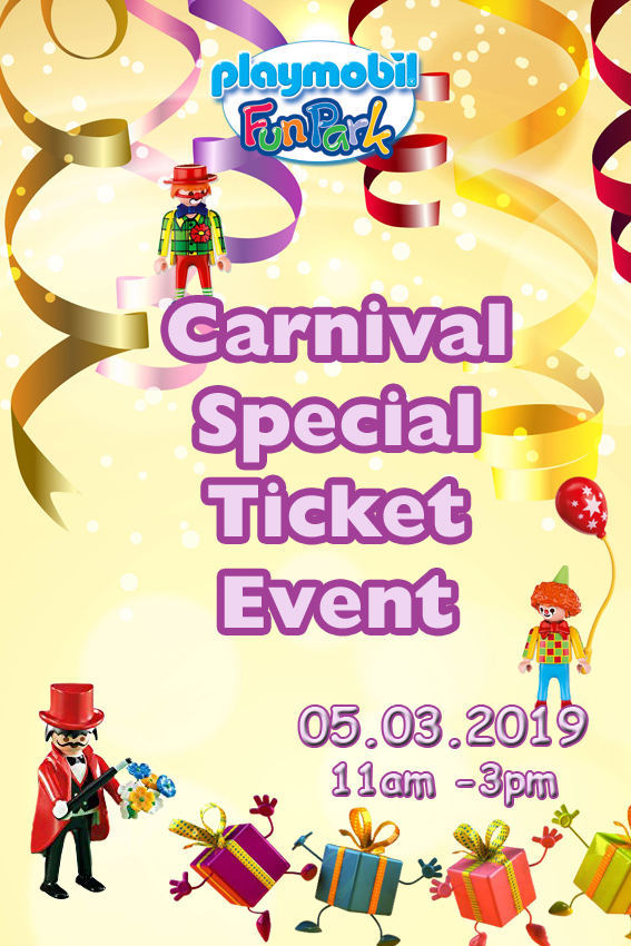 Carnival Special Ticket Event - 5th March flyer