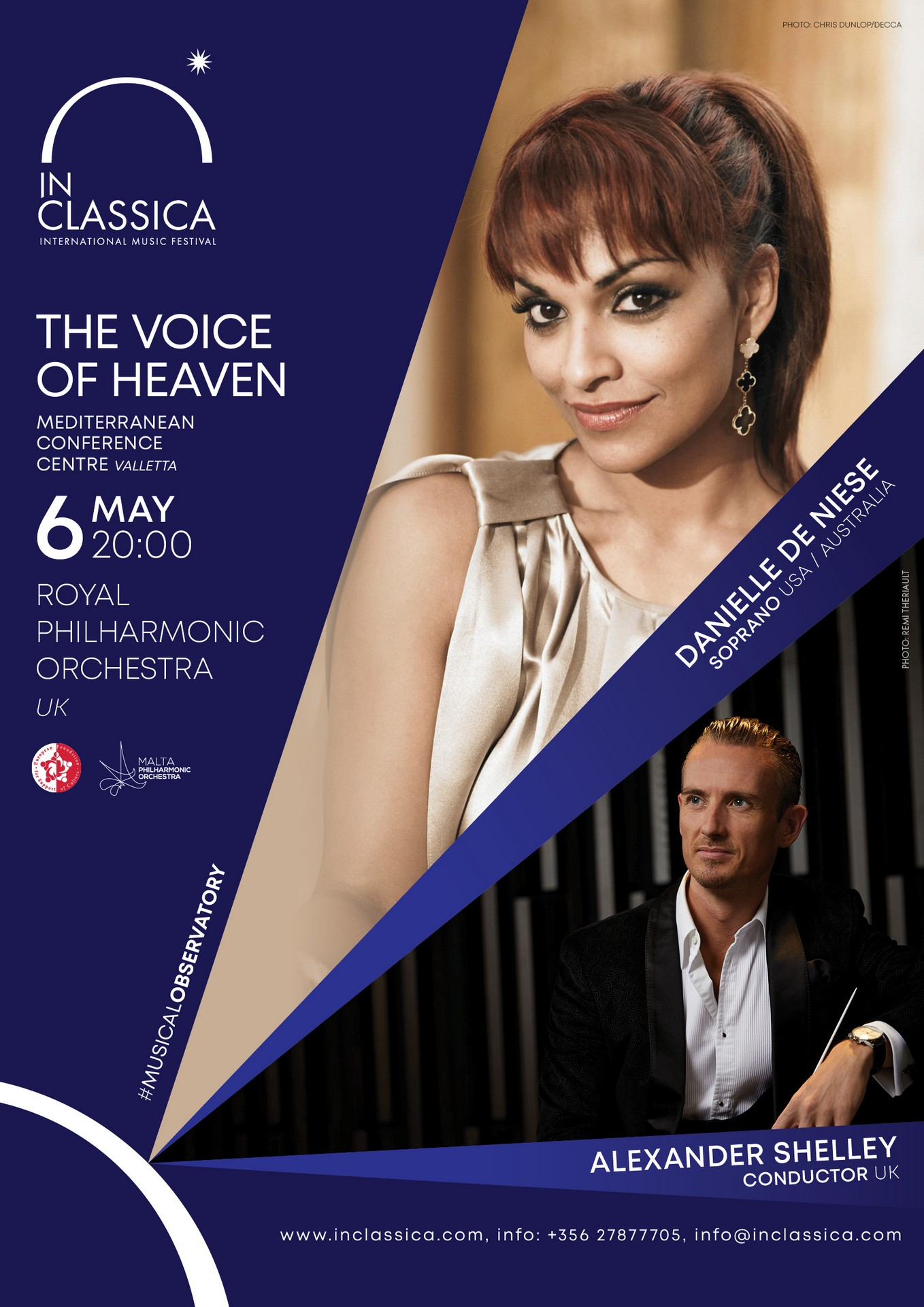 InClassica: THE VOICE OF HEAVEN flyer