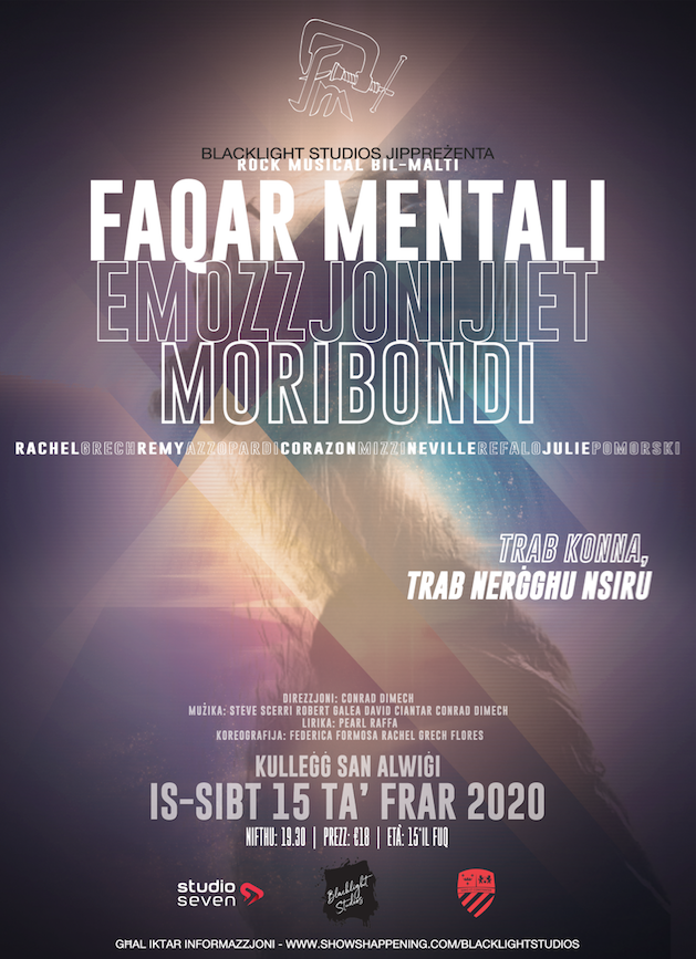 FAQAR MENTALI EMOZZJONIJIET MORIBONDI flyer