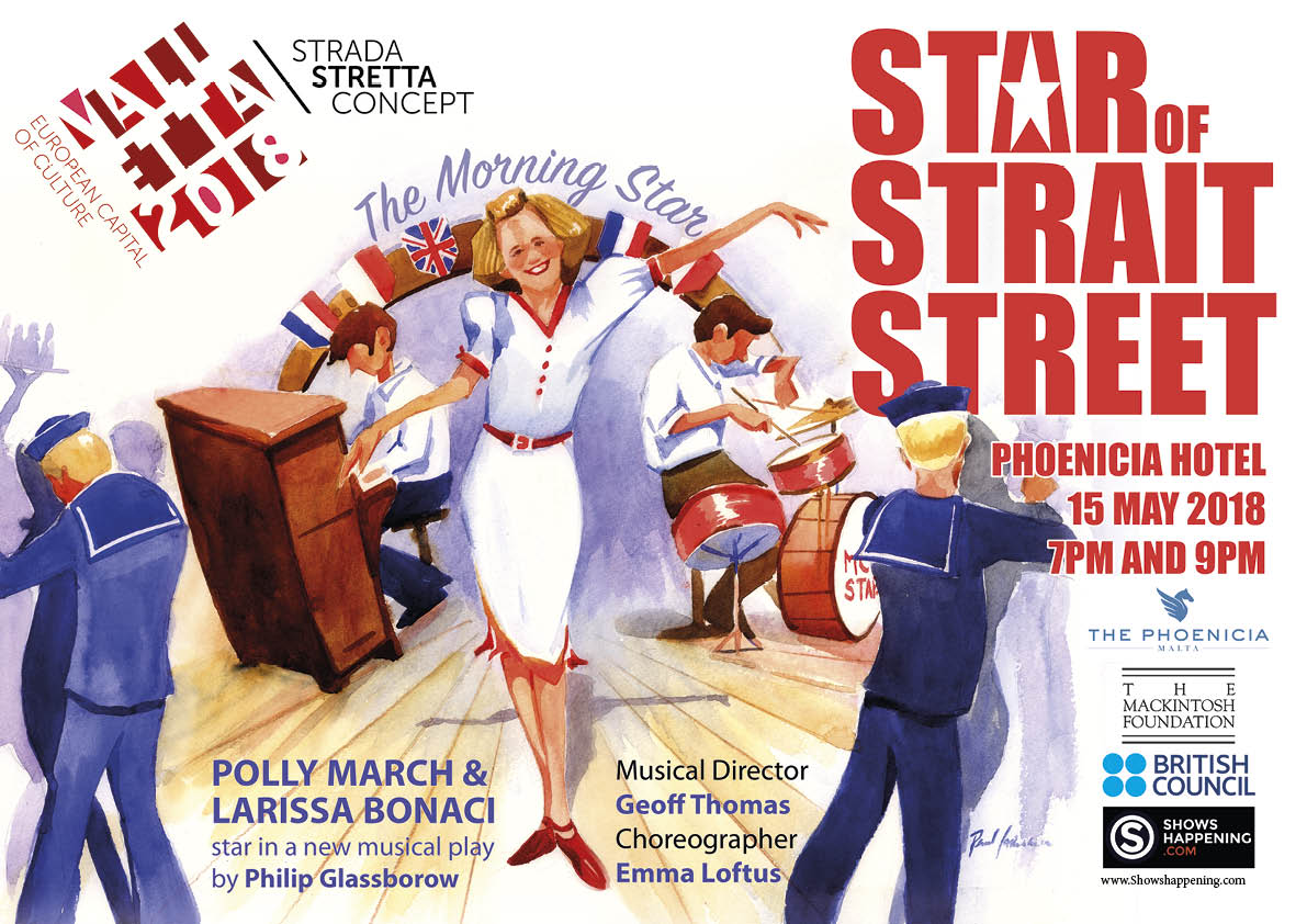 Star of Strait Street flyer