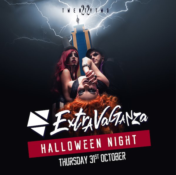 Extravaganza Halloween at Club TwentyTwo! flyer