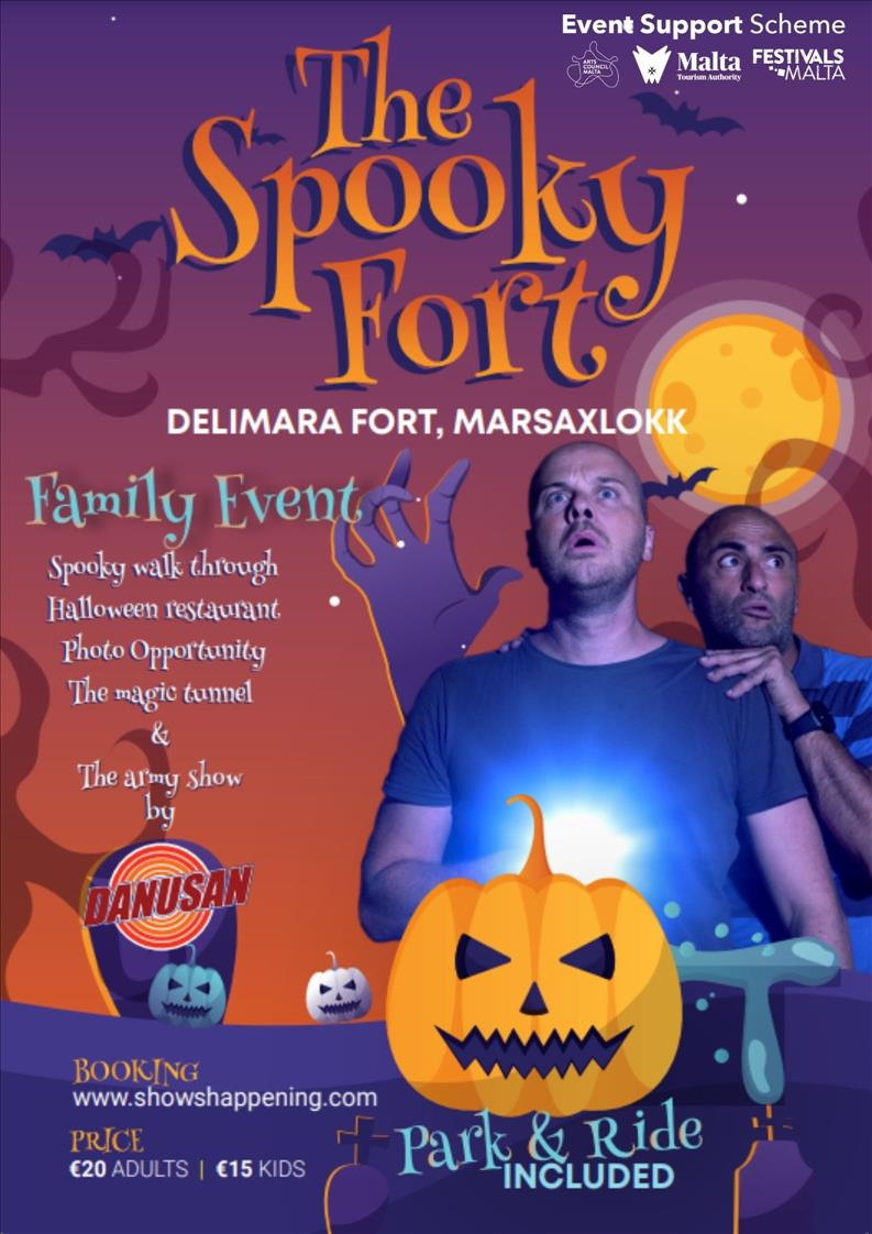 The Spooky Fort poster