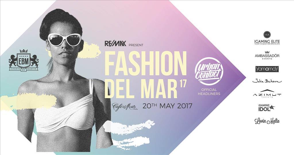 Fashion del Mar 2017 Feat. Urban Contact flyer