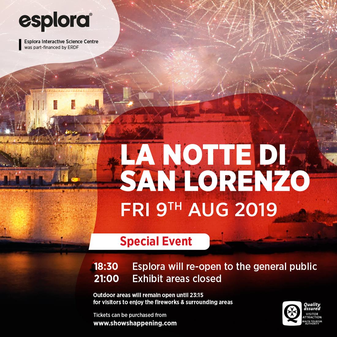 Notte di San Lorenzo flyer