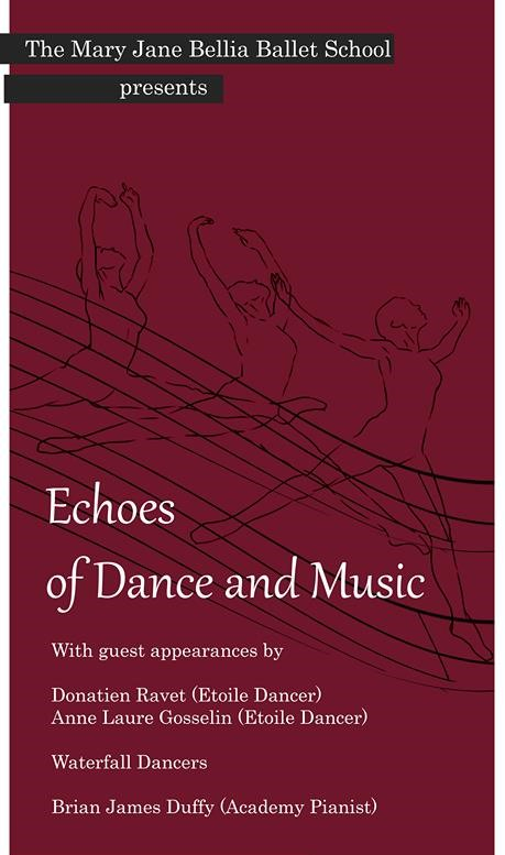 Echoes of Dance and Music flyer
