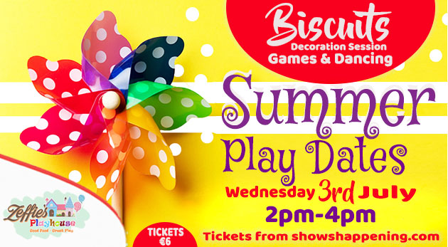 Zeffie's Summer Play Dates flyer