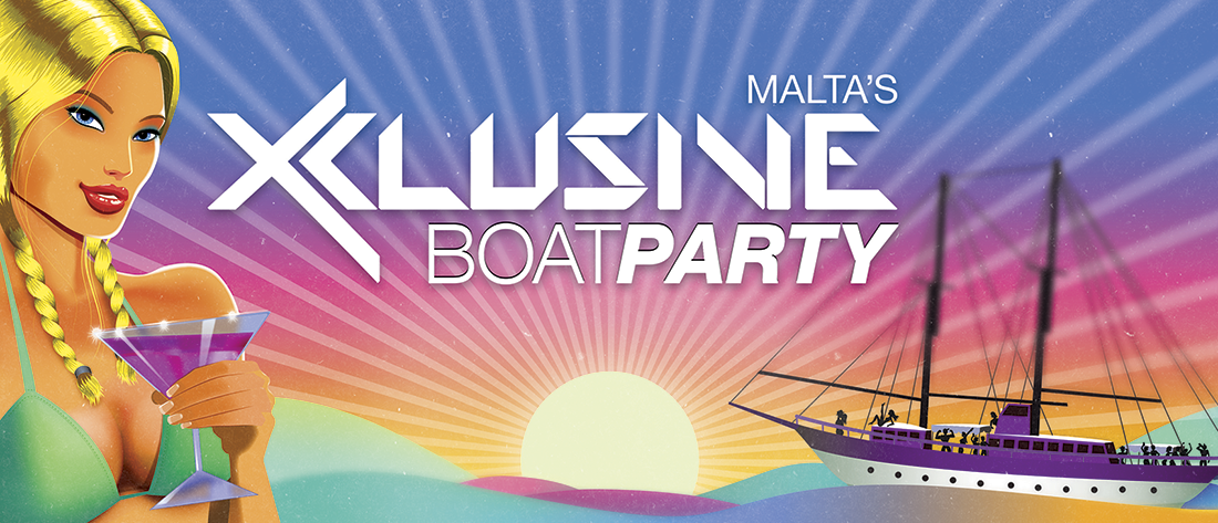 Xclusive Boat Party flyer